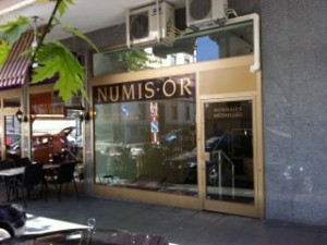 Numisor office in Geneva, Switzerland