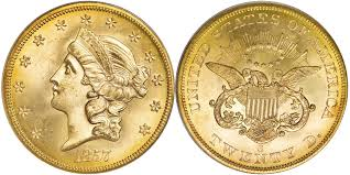 BULLION $20 USA LIBERTY HEAD