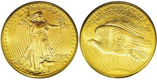 BULLION $20 USA ST. GAUDENS