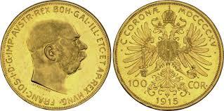 BULLION AUSTRIA GOLD 100 KRONER