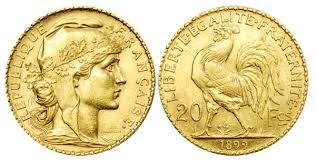BULLION MARIANNE COQ GOLD 20 FRANCS