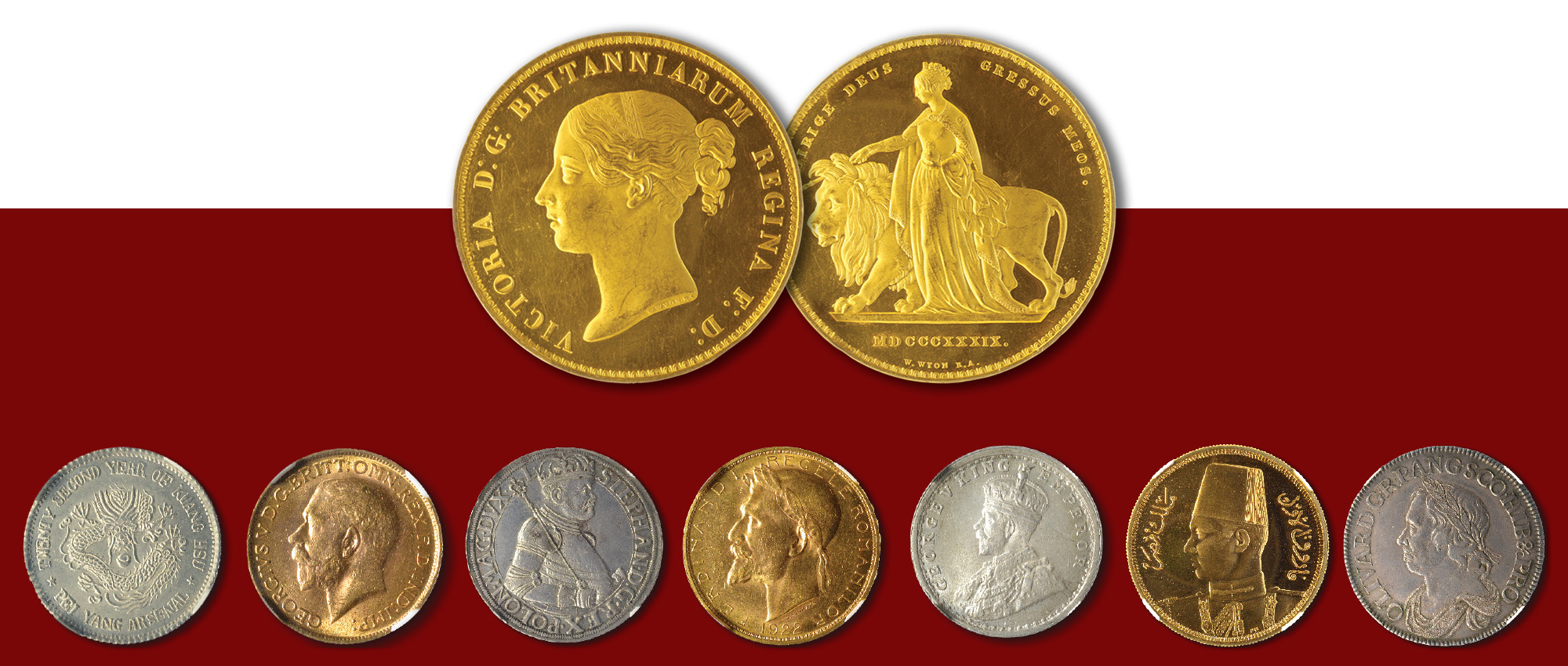 Slide homepage coin auction Nr. 1 Numisor