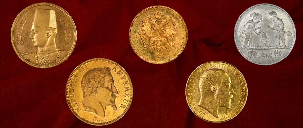 world wide Coins auction - June 2019