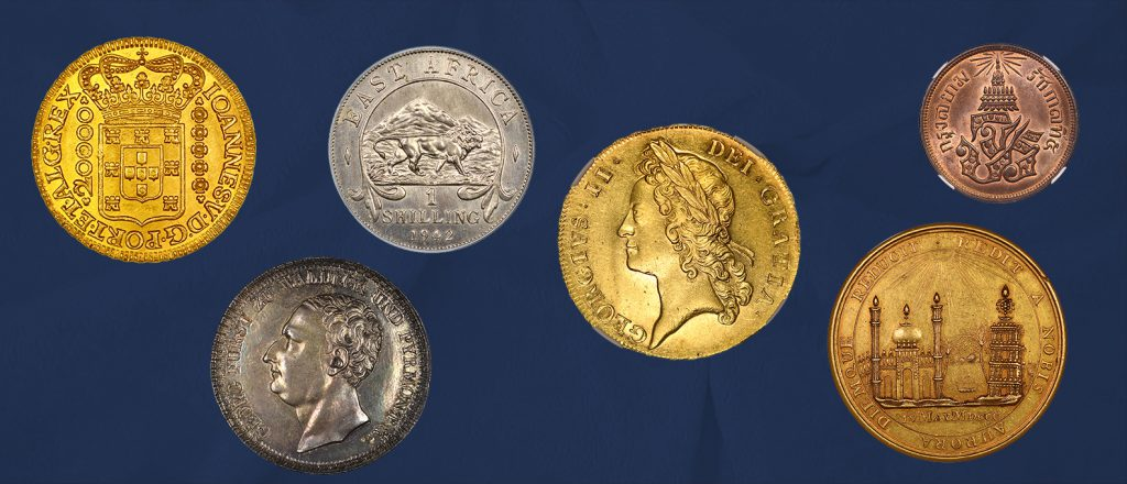 coins auction October 2018 gold and silver